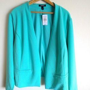 torrid Jackets & Coats - New Gorgeous teal blazer (Plus size)